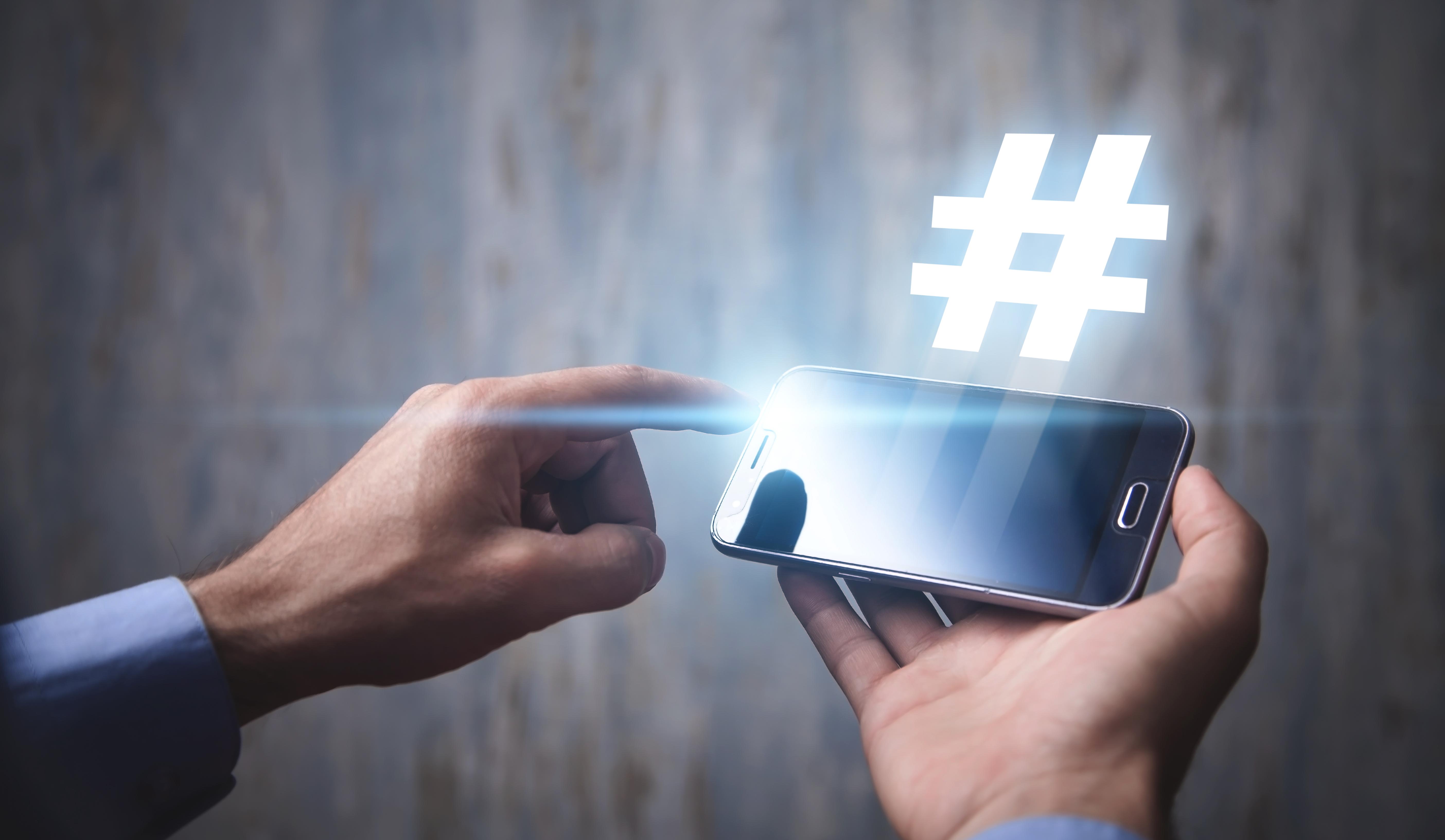 Hashtags en LinkedIn