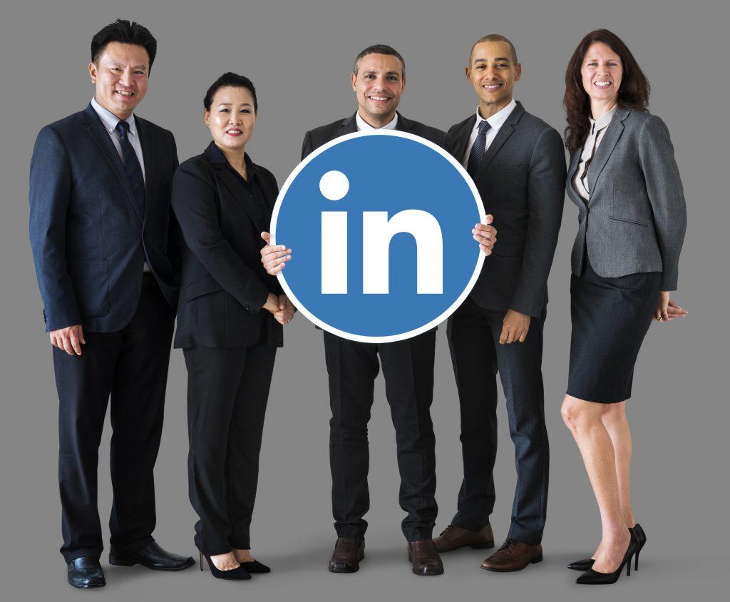Etiqueta en LinkedIn